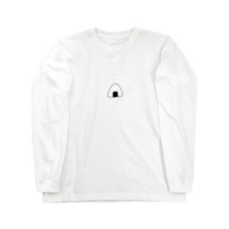 おにぎりおむすび単品 Long sleeve T-shirts