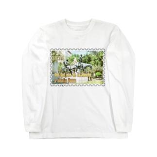 スペイン:ドン・キホーテ★白地の製品だけご利用ください!! Spain: Don Quijote (Don Quixote) in Madrid★Recommend for white base products only !!  Long sleeve T-shirts