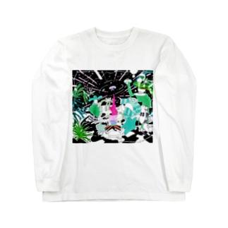 肝腎 Long sleeve T-shirts