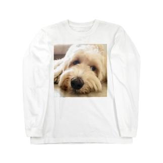 ラブラドゥードル Long sleeve T-shirts