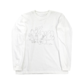 サクラサンブ Long sleeve T-shirts
