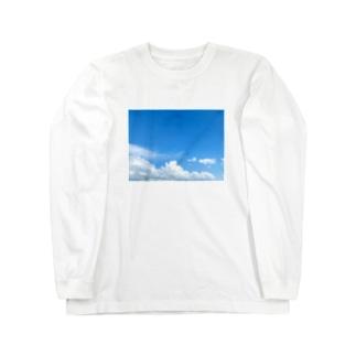 marugaodamonoの台風前よ Long sleeve T-shirts
