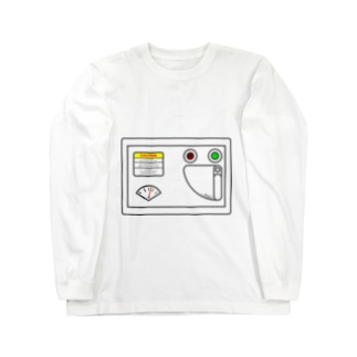 虚無太郎商店のおなかハッチ Long sleeve T-shirts
