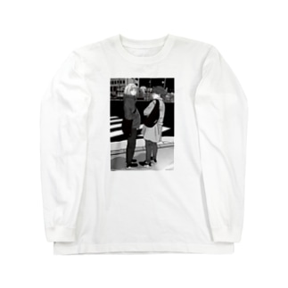 夜のともだち Long sleeve T-shirts