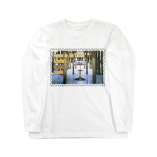スペイン:アルハンブラ宮殿★白地の製品だけご利用ください!! Spain: Court of the Lions/Alhambra/Granada★Recommend for white base products only !! Long sleeve T-shirts