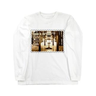 スペイン:アルハンブラ宮殿★白地の製品だけご利用ください!! Spain: Court of the Lions/Alhambra/Granada★Recommend for white base products only !! Long sleeve T-shirts