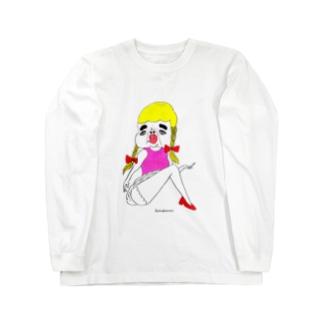 セクシカトリーヌちゃん Long sleeve T-shirts