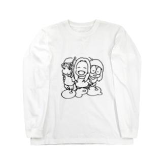しろくろ Long sleeve T-shirts