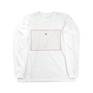 原稿用紙 Long sleeve T-shirts