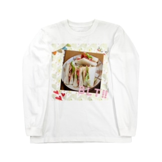手作りBLT!!サンド Long sleeve T-shirts
