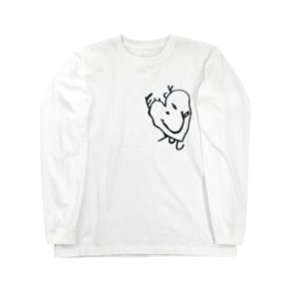 ふぁっとー(淡色用) Long sleeve T-shirts