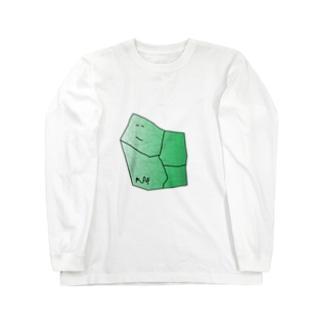 水草のMAPたん1 Long sleeve T-shirts
