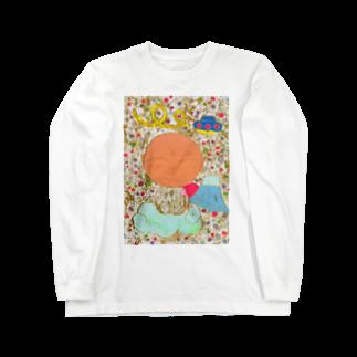 櫻田宗久のジゾカワイイ ジゾー 富士山とUFO Long sleeve T-shirts