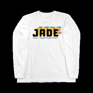 𝙅 𝘼 𝘿 𝙀 のJADE original ロングT Shirt Long sleeve T-shirts