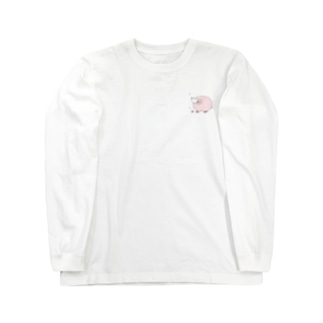桜ひつじ Long sleeve T-shirts