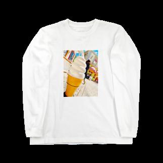 EMIRIのアイスクリーム Long sleeve T-shirts