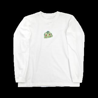 greens4_8のダネダネ! Long sleeve T-shirts