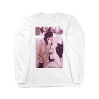 望月めるのグッズ Long sleeve T-shirts