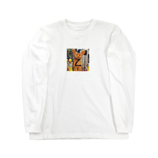 taisiboumoyasouのピーポーくん Long sleeve T-shirts