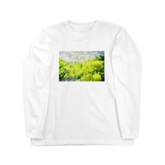 aoco27のきいろ Long sleeve T-shirts