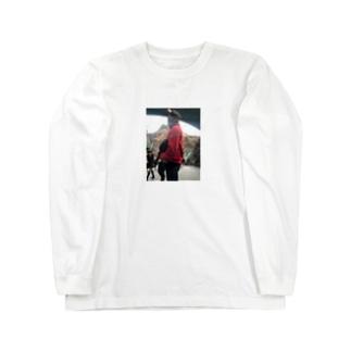 k____yo__のまのカップ Long sleeve T-shirts