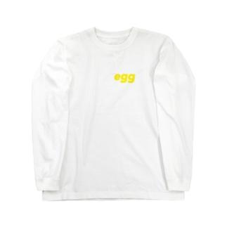 たまご Long sleeve T-shirts