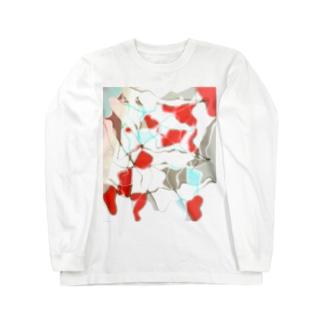 水草の金魚2 Long sleeve T-shirts