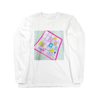 しがないななしSHOPの魔法のハンカチ Long sleeve T-shirts