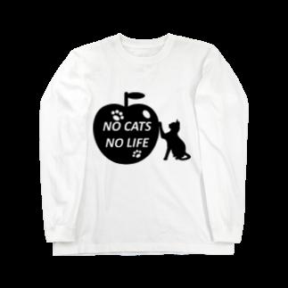 乃舞のNO CATS NO LIFE Long sleeve T-shirts
