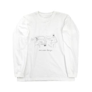 あおり運転根絶 01 Long sleeve T-shirts