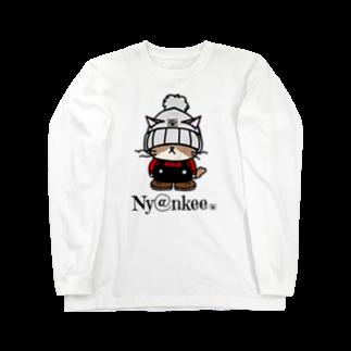 Ny@nkeeのニット帽のあいつ (Ny@nkee) Long sleeve T-shirts