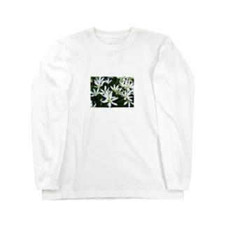 cozcozの花 Long sleeve T-shirts