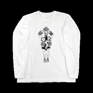 -Hyuga-のぴーす(色なし) Long sleeve T-shirts