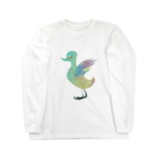 fDESIGNのfm_12_Goose Long sleeve T-shirts