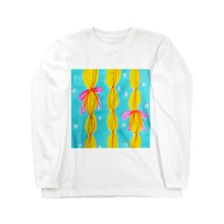 しがないななしSHOPの好きを編み込んだ Long sleeve T-shirts