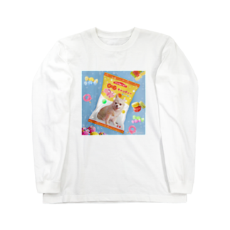 tinamagicalのcandy Long sleeve T-shirts