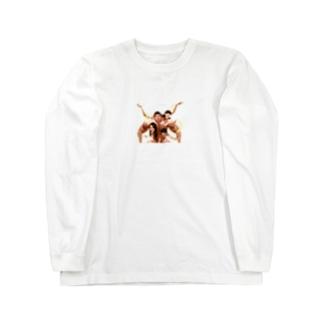 モンスター家族 Long sleeve T-shirts