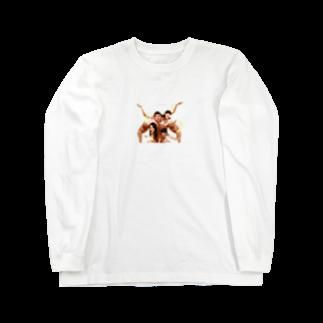 No.8のモンスター家族 Long sleeve T-shirts