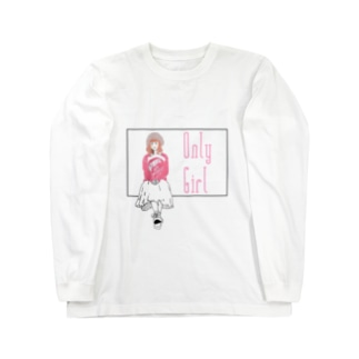 off-whiteのOnly Girl  Long sleeve T-shirts