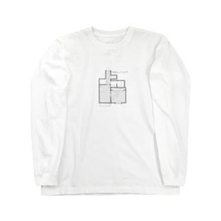 ワタシノリソウ Long sleeve T-shirts