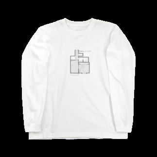 ちぐさとまーちゃんのワタシノリソウ Long sleeve T-shirts