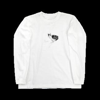 ふかみななこのNeko. Long sleeve T-shirts