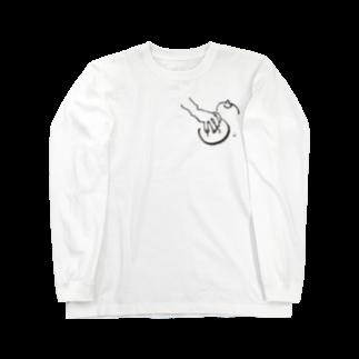 fDESIGNのfm_15b_おっぱい Long sleeve T-shirts