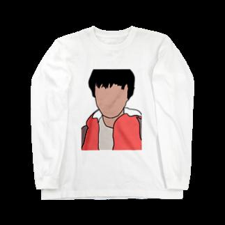 影の影山のグッズ Long sleeve T-shirts