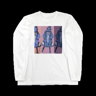 masaki🃏の女は強ぇな Long sleeve T-shirts