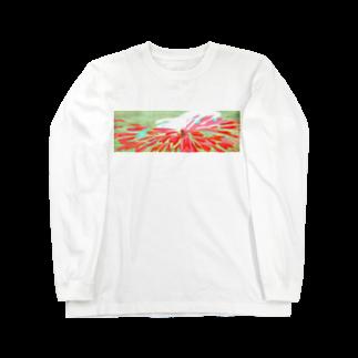 魚の水割りの無題(首) Long sleeve T-shirts