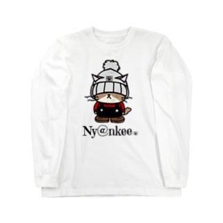 ニット帽なあいつ   (Ny@nkee) Long sleeve T-shirts
