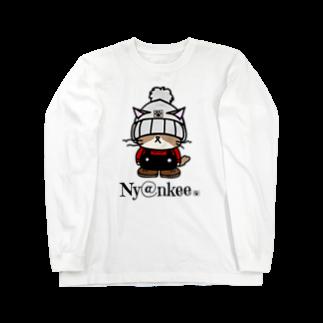 Nyankeeのニット帽なあいつ   (Ny@nkee) Long sleeve T-shirts
