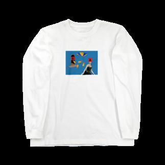隠れ家的なアレのABC Long sleeve T-shirts