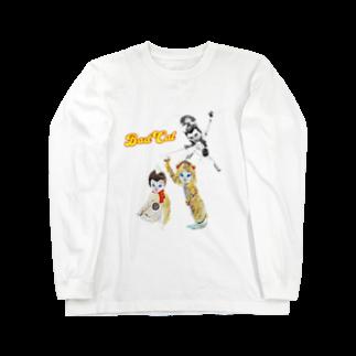 Rock catのBAD CAT ソフト斬り Long sleeve T-shirts